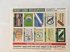 Vel Sportzegels Sports MNH Drachten Regional issue