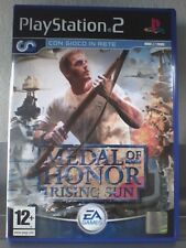 MEDAL OF HONOR RISING SUN   Playstation 2 ( PS2 )  Usato  ita  PERFETTO