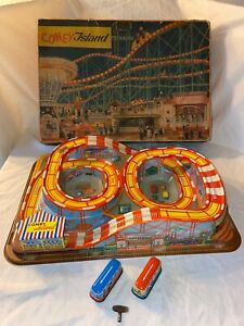 Technofix no. 307 Coney Island Blechspielzeug Boxed Vintage Boxed