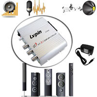 Mini Hi-Fi 200W 12V Amplifier Booster Radio MP3 Stereo Car Motorcycle Home Use