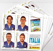 Panini wc 2014 updates extra ITALY sticker actualizacion ITALIA