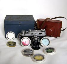 Fed-3 with Industar-61 2,8/52mm lens vintage rangefinder film camera M39+case!