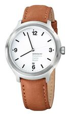 MONDAINE Helvetica No1 Bold 43mm Date Brushed (MH1.B1210.LG)