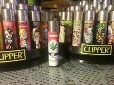 Mechero Clipper lighter Marijuana Strong, parodia paquete tabaco Marlboro