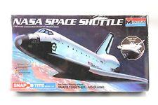 Monogram Snap Tite NASA Space Shuttle Model Kit #1110 1984 1:200