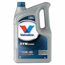 Valvoline SynPower 10w-40 Engine Oil - 5 Litres 5L