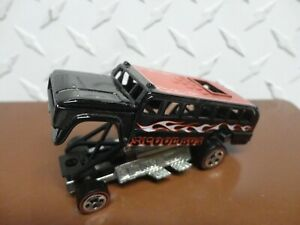 Loose Hot Wheels Black Tom Daniels S'Cool Bus