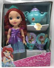 NEW Disney Princess Ariel Little Mermaid with Tea Party Set My First Princess