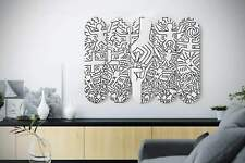Keith Haring 'Marriage of Heaven and Hell' Pop Art Skateboard Wall Art, Mural &