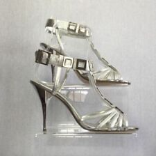 Dune 100% Leather Strappy, Ankle Straps Heels for Women