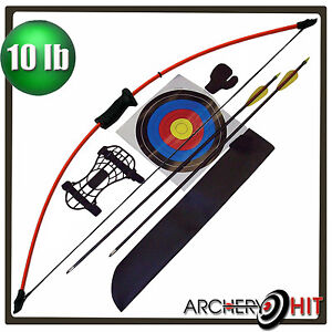 "Kids 36"" Junior Long Bow and Arrow Recurve Archery Set Basic Pack"
