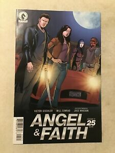 ANGEL AND FAITH SEASON 10 #25  NM 9.4 MIKE NORTON VARIANT COVER