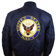 🔴 Knox Armory Satin Jacket U.S Korean War Embroidered Bomber Reversible Large