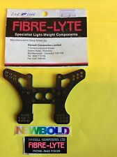 Kyosho Vintage Rare LAW-7 Lazer Rear Shock Mount, Fibre-Lyte Carbon Fibre Option