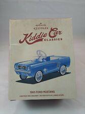 "New ListingHallmark Keepsake Ornament Kiddie Car Classics ""1965 Ford Mustang"" New"