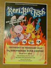 Reel Big Fish - London feb.2012 live music show tour concert gig poster