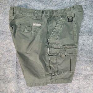"Columbia Men's Cargo Shorts Green Size M Inseam 7"""