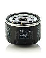 MANN-FILTER W 75/3 Oil Filter