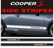 side stripes cooper s style fits bmw mini