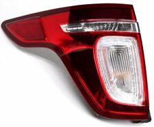 OEM Ford Explorer Left Driver Side LED Tail Lamp Crack Leak