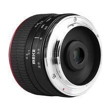 Meike 6.5mm F2.0 Fisheye Lens for Fujifilm Mirrorless APS-C X-mount X-Pro1 Pro2
