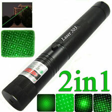 High Power 10 Miles Range 5mw 532nm Green Laser Pointer Light Lazer Pen Beam