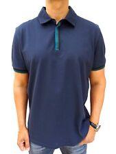 HUGO BOSS Men's £89rrp Current! 'PAXTO' Navy Pique Polo Top Size XXL #4267