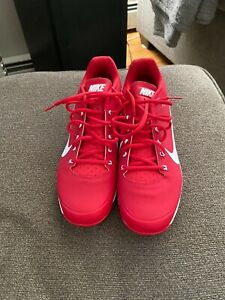 NEWNike Air Clipper 2017 Red and White Baseball Cleat - Men's Size 10.5