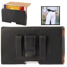 Housse en cuir avec clip et passant ceinture pour Apple iPhone 6 6s Plus (5.5)