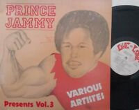 PRINCE JAMMY - Presents Volume 3 - VINYL LP