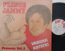 PRINCE JAMMY - Presents Volume 3 - VINYL LP