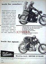 1959 Velocette 'VENOM 500' & 'VIPER 350' Motor Cycles ADVERT (487e) - Print Ad