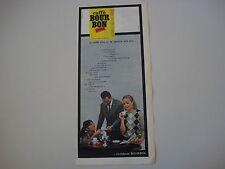 advertising Pubblicità 1964 CAFFE' BOUR BON PRIMO