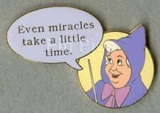 Disney Auctions Film Quote #1 Fairy Godmother LE Pin
