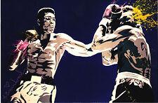 Mr Brainwash Muhammad Ali Legend Boxing Promo joe frazier cassius clay banksy