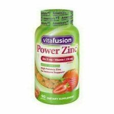 Vitafusion Power Zinc Dietary Supplements - 90ct - NEW