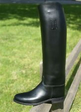 Dehner Stock Riding Boots (Dress) - Women's Size 6.5 B with Spanish tops