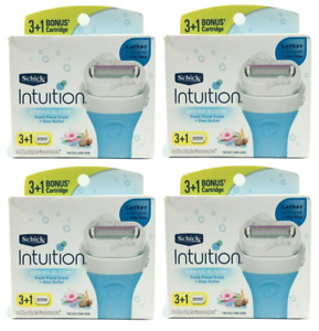 Schick Intuition Refill Blade Cartridges, Spring Bloom, 16 Cartridges