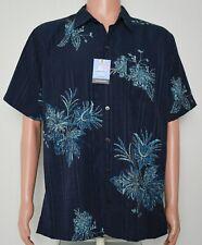 Van Heusen #8206 NEW Men's Size Large 16-16.5 Button Front Short Sleeve Shirt