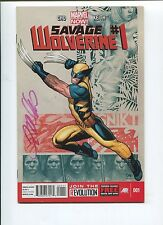 SAVAGE WOLVERINE #1 - FRANK CHO SIGNED STORY, ART & COVER - MARVEL NOW! - 2013