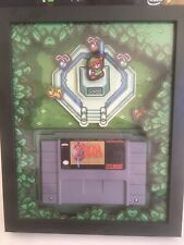 Zelda A Link to the Past SNES Shadow Box Master Sword Art Frame