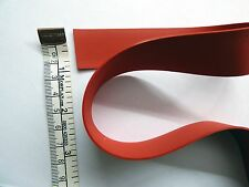 Latex Rubber Strapping 1.05mm Thick, 25mm/ 1inch Wide, Red