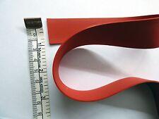 Latex Caoutchouc Cerclage 1.05 mm épais, 25mm/ 1 in (environ 2.54 cm) Large, Rouge
