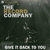 The Record Company - Give It Back To You [CD]