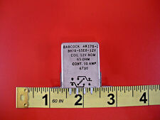 Babcock BR7X-65E8-12V Relay Coil 12v 65 ohm 10a 8-Pin Hermetically Sealed Nos