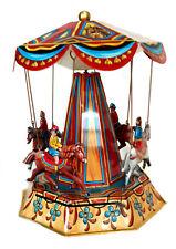 CARROUSEL CHEVAL jouet en tole mécanique old toys tin toys jouet ancien
