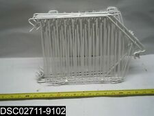 "Qty=10: 1009666-12Divw Wire Shelving Oeb Open End Basket 12"" Bin Divider (White)"