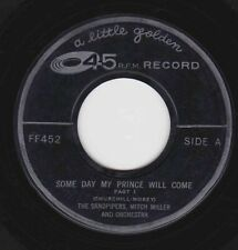 Sandpipers, Mitch Miller on 45 rpm Golden FF452: Some Day My Prince Will Come (i