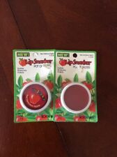 Lot Of Two Bonnie Bell Lip Smackers Pot Of Gloss –  Red Delicious Apple
