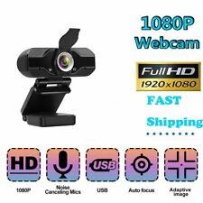 Webcam Auto Focusing Web Camera 1080P Hd Cam Microphone Usb Pc Laptop Desktop